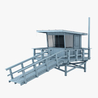 3d lifeguard station