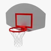 3d model basketball rim