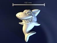 shark mold hand 3d model