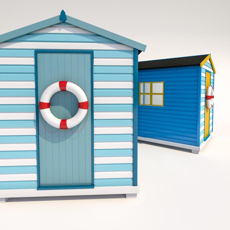 Max beach hut for Model beach huts