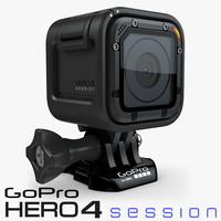 gopro hero4 session 4 3d model