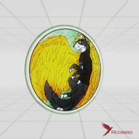 3ds max stained glass - furry