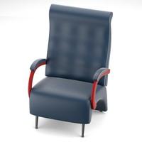 maya massive armchair