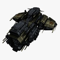 Upgraded Civilian Transport Spaceship 5