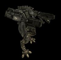 titan mech fighter 3d model