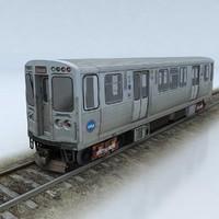 CTA 5000 train