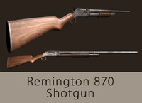 x gameready remington shotgun