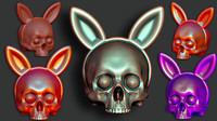 Bunnyears Skull