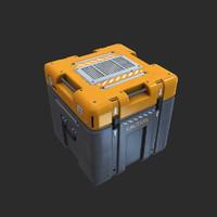 sci-fi metal crate lwo