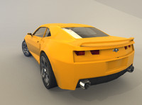 3d model of chevrolet camaro