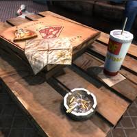 pizza box soda 3d max