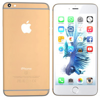3d model modelled iphone 6s gold