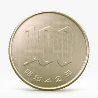 c4d yen coin