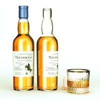 3dsmax talisker whiskey bottle
