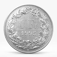 c4d frank coin