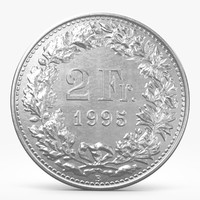 3d franks coin model