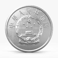 fen coin 2 3d model