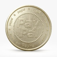 paypal pay pal 3d model
