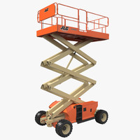 engine powered scissor lift max