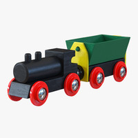 Wooden Toy Train 2