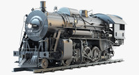 ICRR 1518 Steam Locomotive