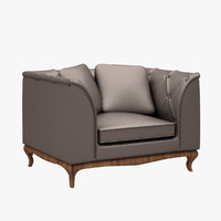 3d model dolce vita sofa