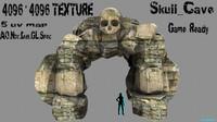 blender skull cave