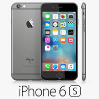 3d iphone 6s space gray