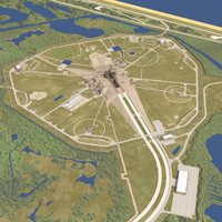 launch complex 39a shuttle 3d lwo