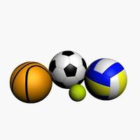 4 Sport Balls Collection