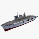 helicopter carrier 3D models