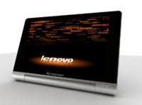 3d model lenovo yoga tablet 8