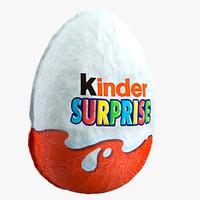 3d model kinder surprise