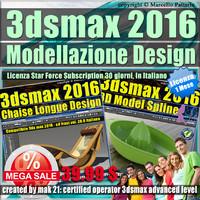 3ds max 2016 Modellazione Design 1 Mese Desktop Subscription