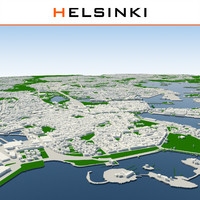 helsinki cityscape dxf