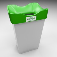 recycling bin 3ds