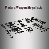 Modern Weapon Mega Pack