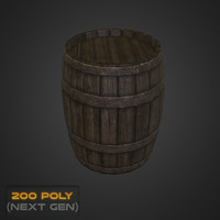 wooden barrel max