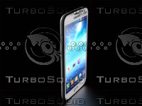 3d smartphone samsung galaxy mega model