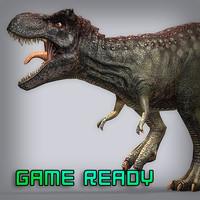 tyranno tyrannosaurus rex obj