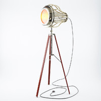 lamp tripod 3d model