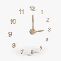 3dsmax wall clock