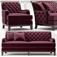 3d model of sofa opera sebastian