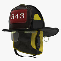 fdny helmet 3d model
