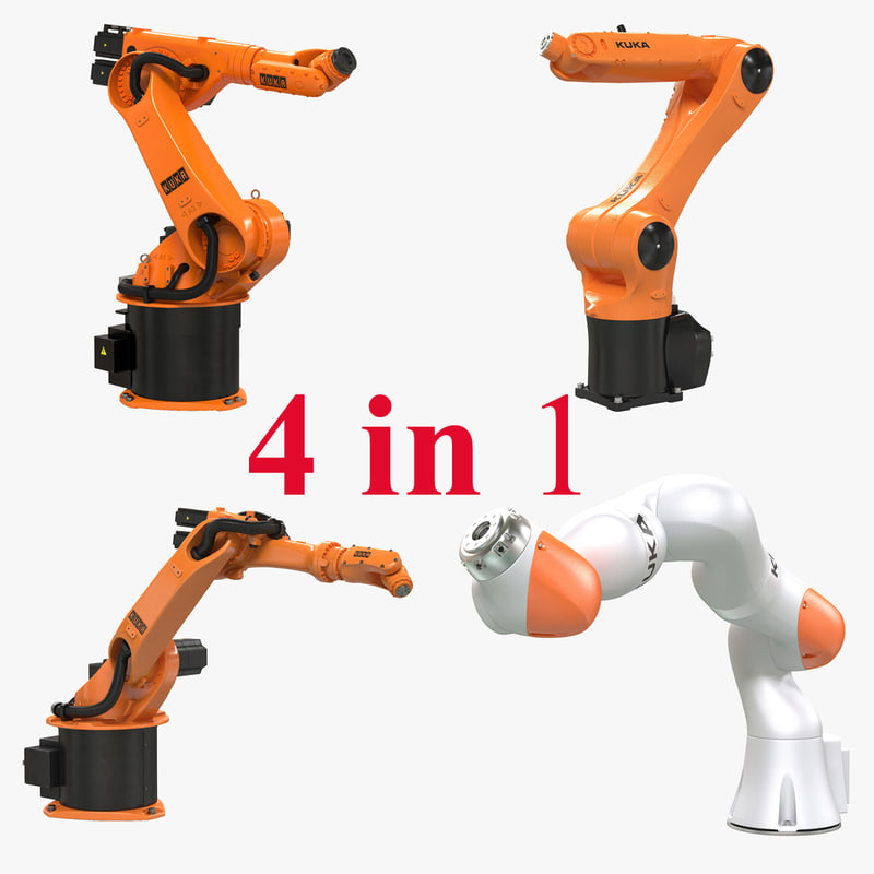 Kuka Robots Rigged 3d models Collection 000.jpg