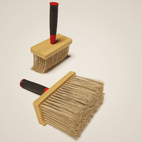 flat brush 3d max