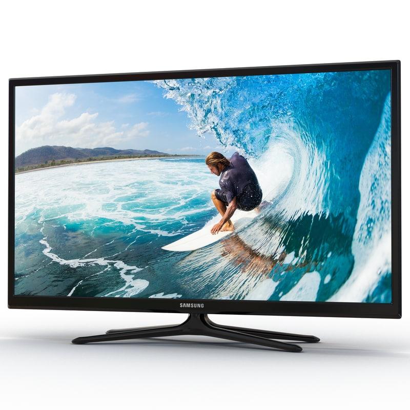 Samsung Plasma F5300 Series TV 51 inch 3d model 01.jpg