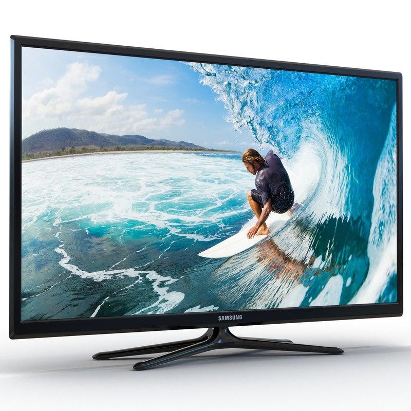 Samsung Plasma F5300 Series TV 60 inch 3d model 01.jpg