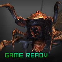 insect games 3d model