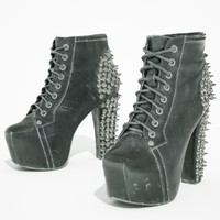 3d studded boots model